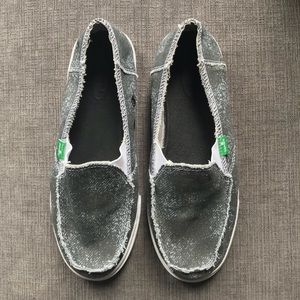 NWOT Sanuk Women's Cabrio Sidewalk Surfer Shoes